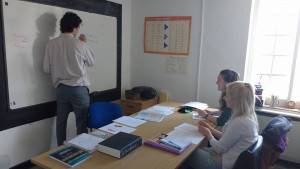 Certificate in Advanced English Exam Students