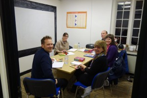 A Spanish evening class at Antler Languages Ltd