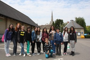 Spanish students in Oundle