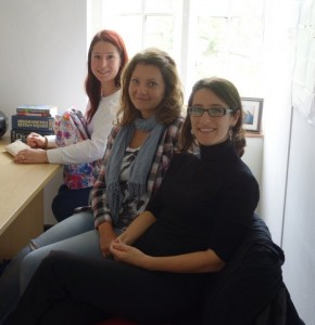 Antler Languages students studying at the academy for Cambridge First Certificate in English